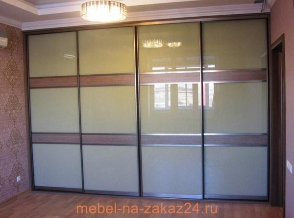 шкафы купе с матовым стеклом. фото